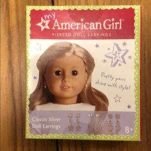 American Girl Doll earings